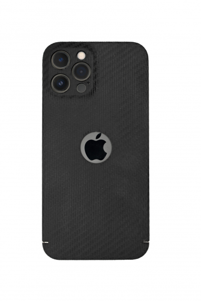 Carbon Cover iPhone 13 Pro Max con Logowindow