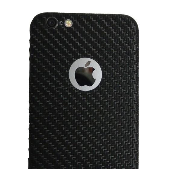 Carbon Cover iPhone 6s Plus mit Logo Window