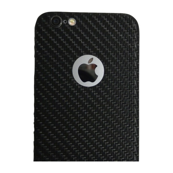 Carbon Cover iPhone 6 mit Logo Window