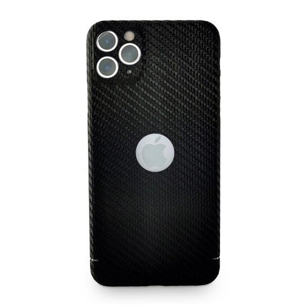 Carbon Cover iPhone 11 Pro Max mit Logo Window