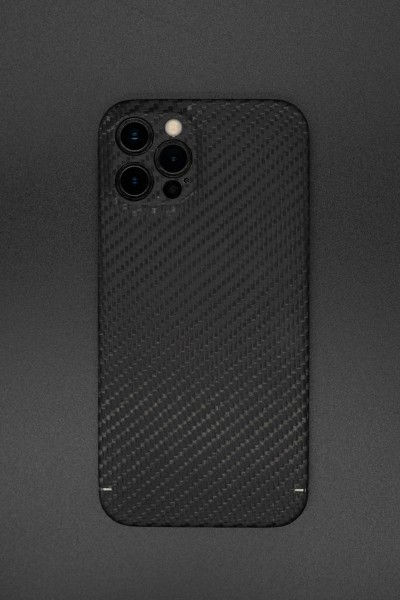 Magnetic Carbon Cover iPhone 12 Pro