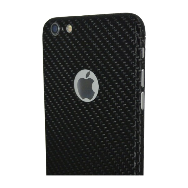 Carbon Cover iPhone 6s mit Logo Window